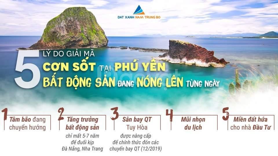 Bán đất biển Phú Yên dưới 1 tỷ sổ đỏ trao tay nhận ngay 2 chỉ
