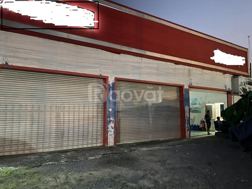 Cho thuê kho và văn phòng mặt tiền đường Quốc lộ 1A, huyện Bến Lức
