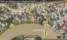 Bán đất 2 mặt tiền đường view sông Vĩnh Phương Nha Trang