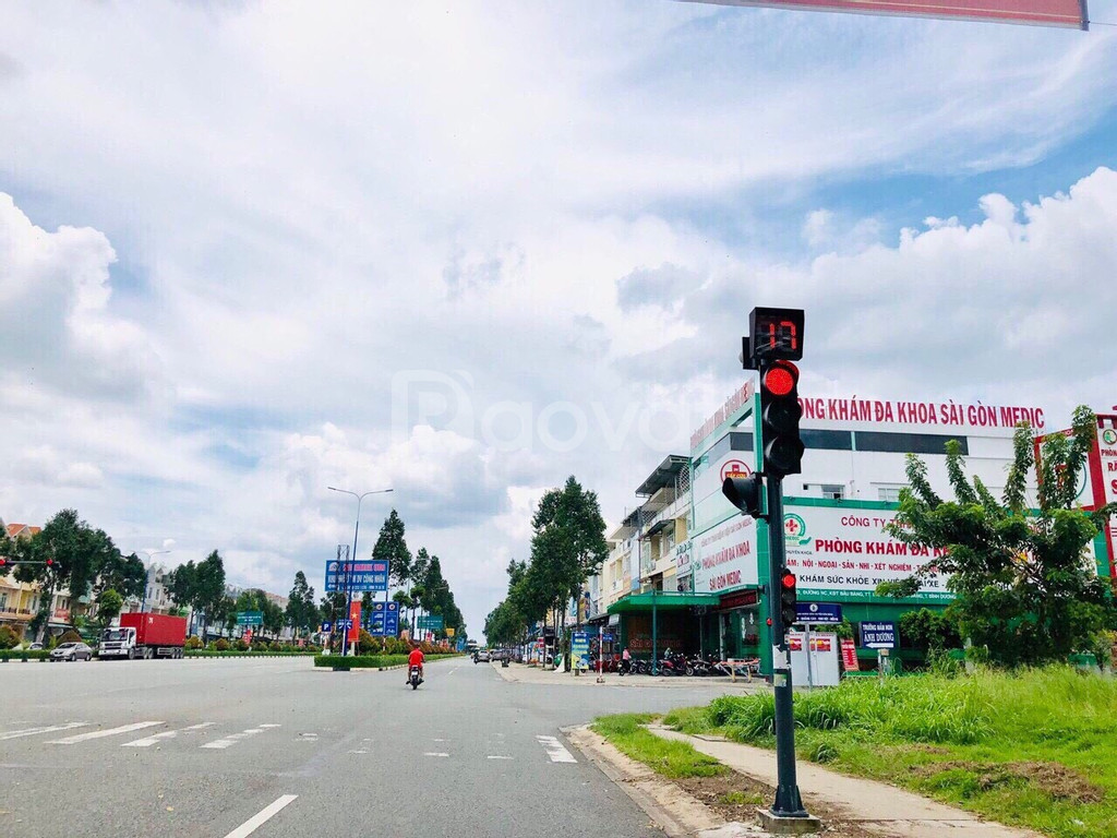 Đất nền sổ đỏ Bàu Bàng đối diện TTHC Huyện Bàu Bàng