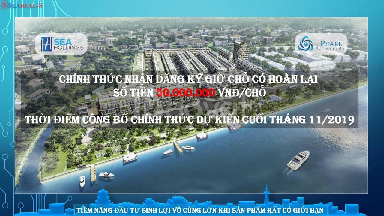 Dự án nhà phố ven sông- Nơi để xây dựng mái ấm