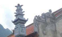 Mẫu cột đồng trụ đá nhà thờ họ - xây cột đồng trụ nhà thờ họ bằng đá