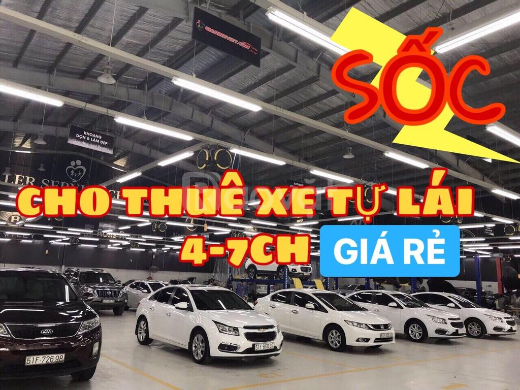 Cho thuê xe tự lái 4 đến 7 chỗ, giá rẻ Sài Gòn