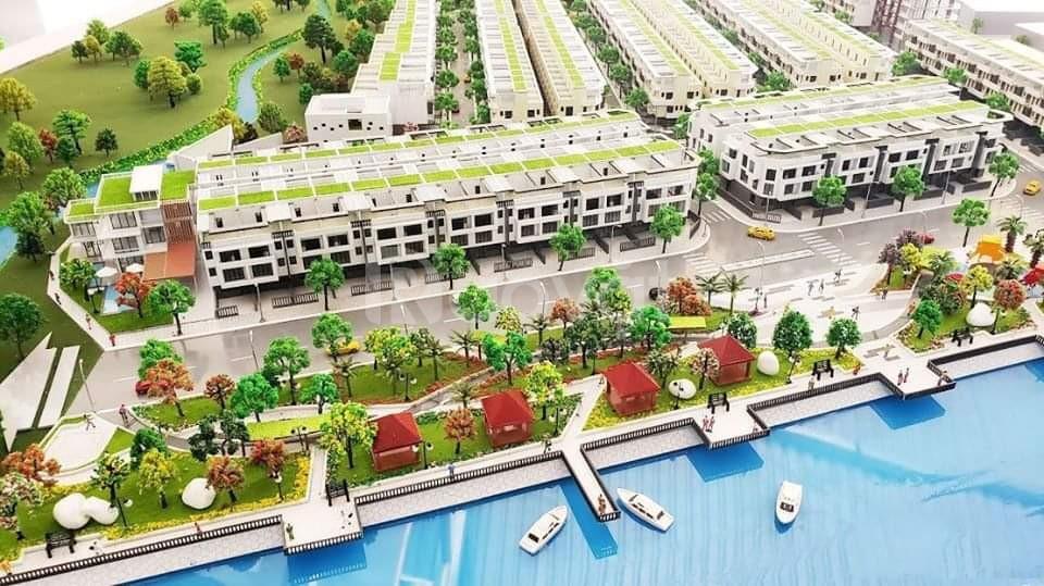 Độc quyền 50 căn nhà phố biệt thự ven sông thanh toán theo tiến độ