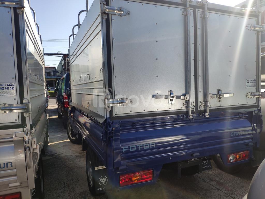 Xe Foton thùng bạt giá rẻ bền đẹp, có hỗ trợ vay ngân hàng