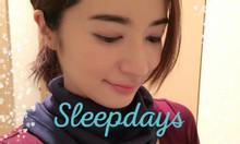 Khăn ống nano Sleepdays Nhật Bản hết đau vai gáy, hoa mắt chóng mặt