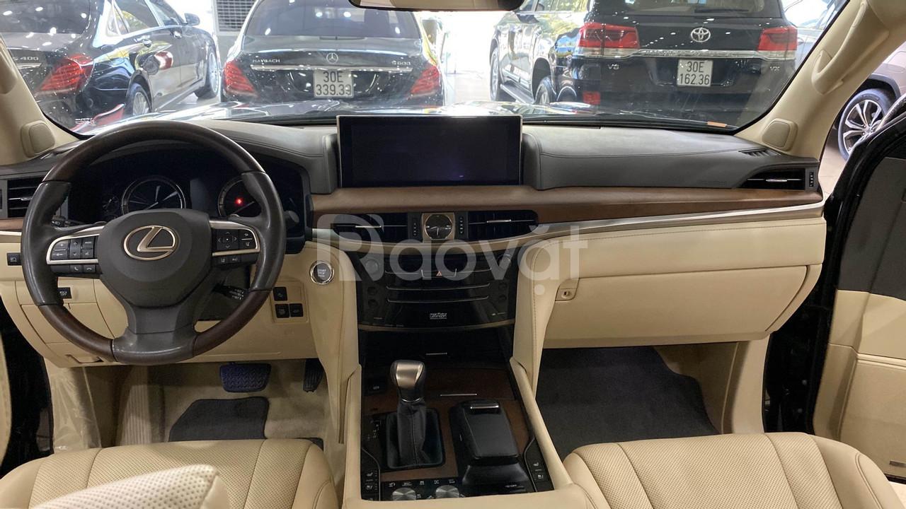 Bán Lexus LX570 Nhập Mỹ màu đen, đăng ký 2016, xe đẹp, biển đẹp .