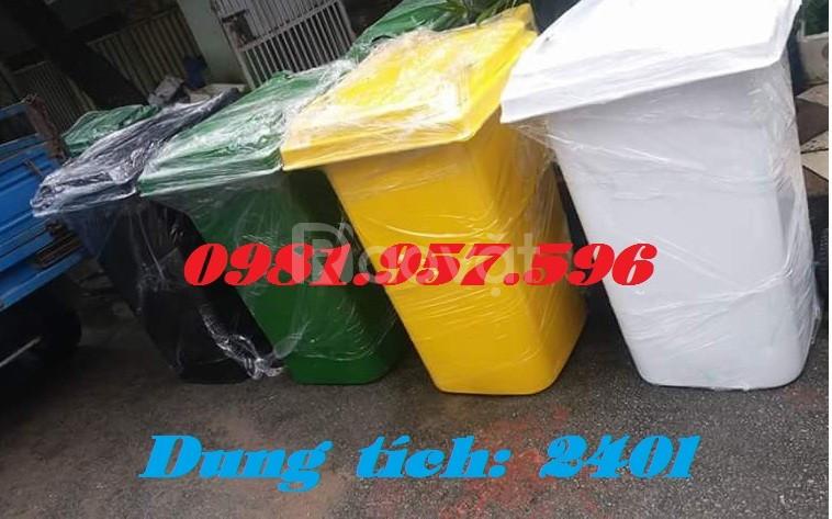 Thùng rác y tế 240l,thùng rác nhựa 240l, thùng rác bệnh viện
