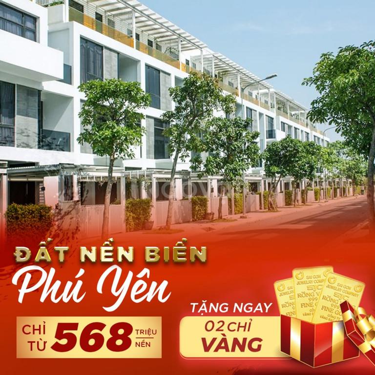Bán đất biển Phú Yên, gần Vịnh Xuân Đài, giá chỉ 568Tr/nền