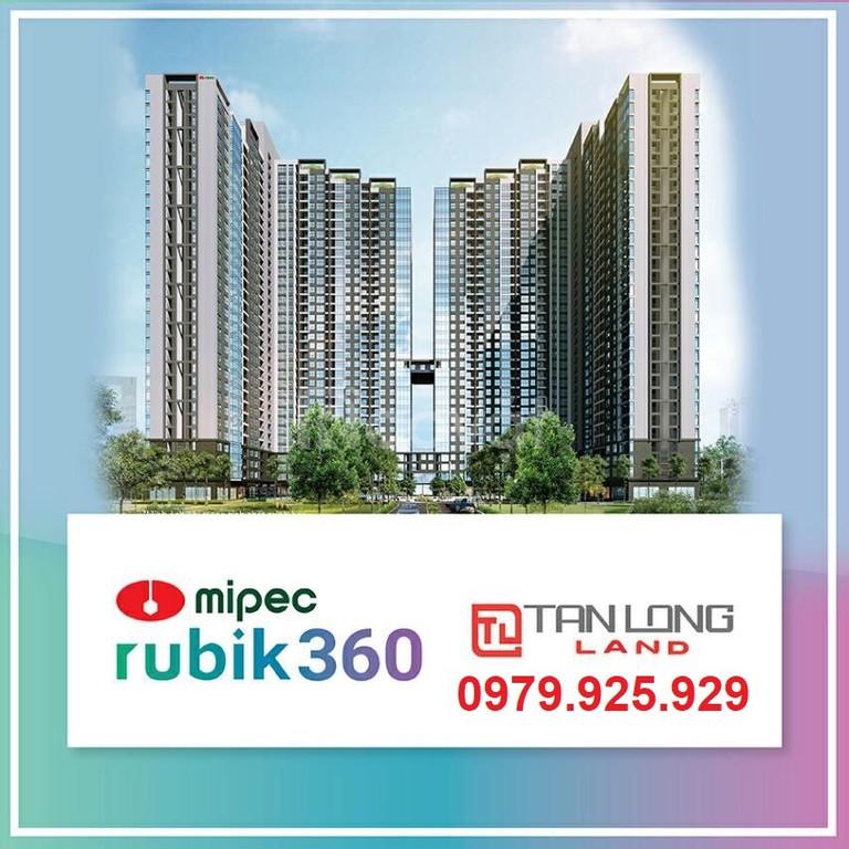 Sở hữu căn hộ 2PN Mipec Rubik360 122 Xuân Thủy  2.8tỷ/76m2