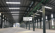 Cho thuê kho xưởng DT 1700m2 tại KCN Tân Quang, Văn Lâm, Hưng Yên