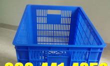Sóng nhựa đan hình vuông,rổ nhựa công nghiệp khay nhựa đựng dụng cụ
