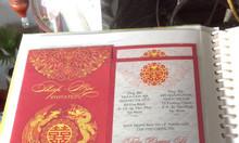 In ấn - cung cấp thiệp cưới giá rẻ mẫu mã đẹp tại Trà Vinh