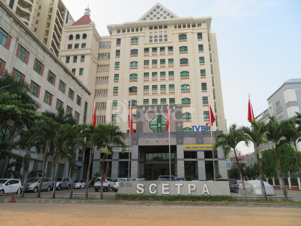 Văn phòng cho thuê Scetpa Building, mặt tiền đường Cộng Hòa