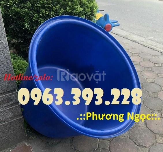 Thùng nhựa tròn dung tích lớn, thùng nhựa làm bể nước