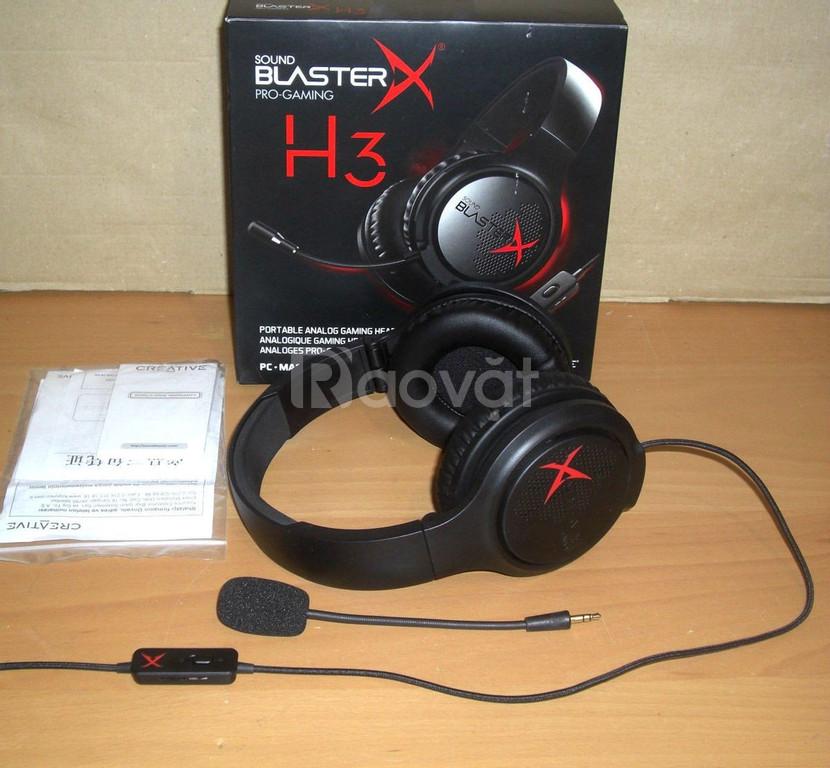 Tai nghe chụp tai Creative Sound Blaster X H3