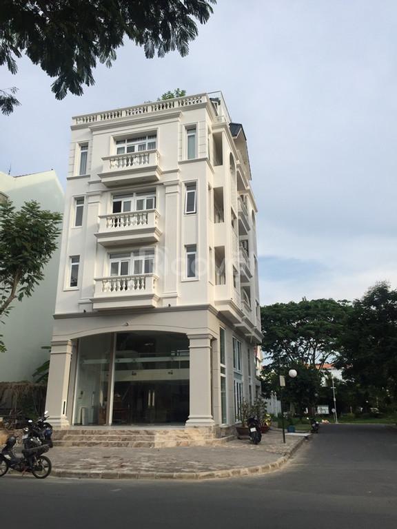 Cho thuê nhà mới đẹp khu Nam Thiên, mặt tiền đường Hà Huy Tập ở Phú Mỹ