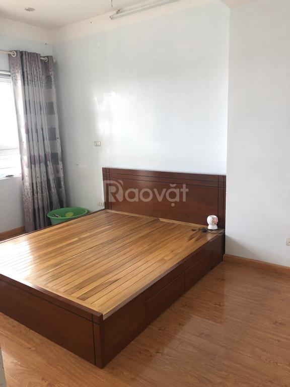 Cho thuê căn hộ 86.5m Vinaconex 7, 2PN, 2WC, đủ đồ ( thiếu mỗi tivi )