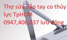 Lắp tay co thủy lực giá rẻ TPHCM, lưu động