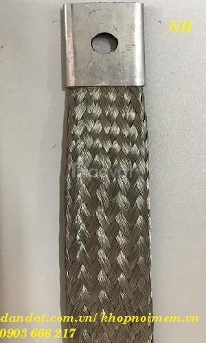 Dây đồng bện tiếp đất/ thanh nối đồng mềm/ sợi đồng bện/ dây đồng bện