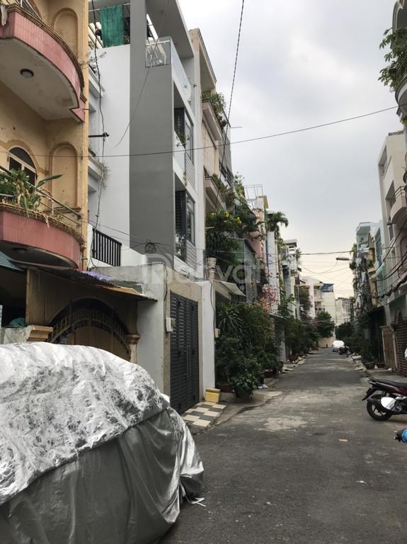 Bán hẻm xe hơi 32/ Bùi Đình Túy, Phường 12, Bình Thạnh Nhà trệt 3 lầu