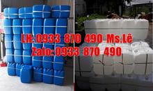 Vỏ can 30 lít rỗng đựng hóa chất, can nhựa 30 lít đựng axit giá rẻ