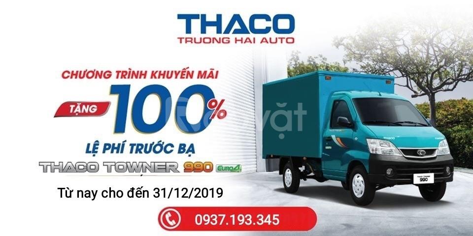 Xe tải dưới 1tấn Bà Rịa Vũng Tàu Thaco Towner990 giá tốt