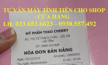 Bộ máy tính tiền cho shop mỹ phẩm giá rẻ tại Long An
