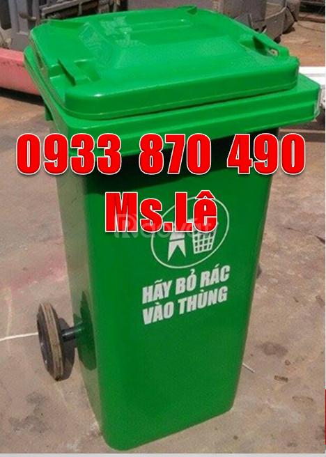 Tìm nơi sản xuất thùng rác công cộng 120 lít - 240 lít tại Hà Nội