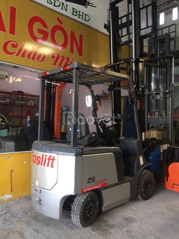 Xe nâng điện ngồi lái 2,5 tấn 4 mét Eoslift-Mỹ