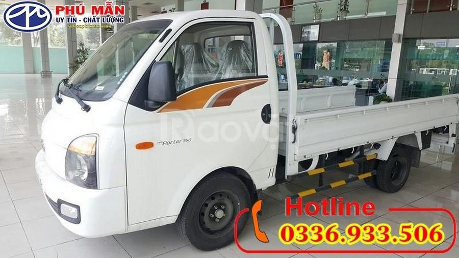 Xe Hyundai 1.5 tấn thùng lửng mới 100%