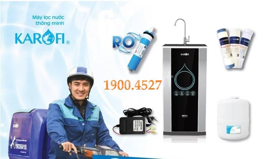 Sữa chữa bảo hành máy lọc nước Karofi tại Hà Nội 19004527