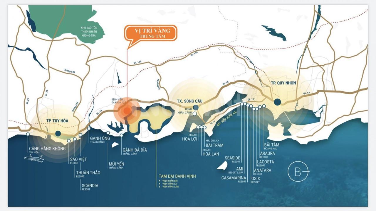 Bán đất nền biển KDC Đồng Mặn Sông Cầu, sổ đỏ thổ cư - còn đúng 5 lô