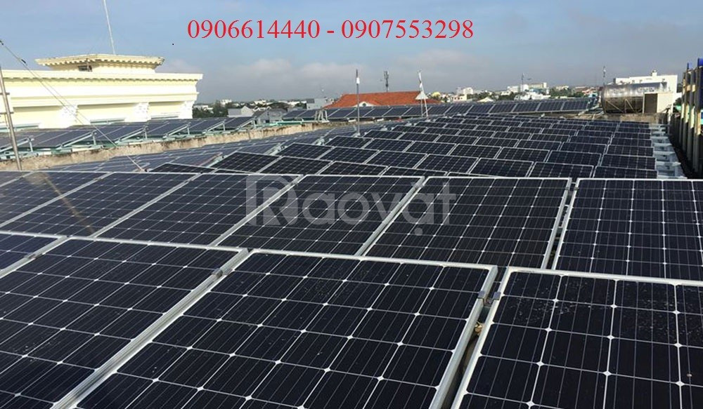 Nhận tư vấn các loại Pin năng lượng mặt trời tại huyện Bình Chánh