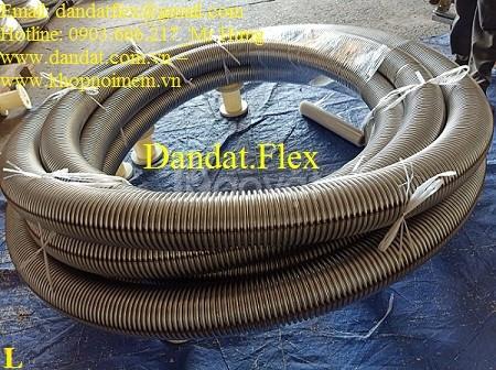 Ống ruột gà inox 304, Ống mềm inox 304, Ống mềm chịu nhiệt đàn hồi