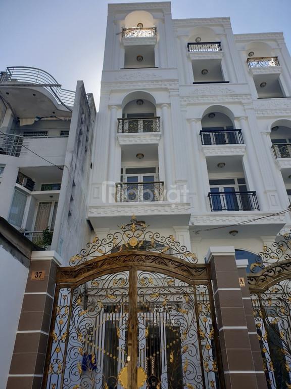 Bán nhà lửng 5 lầu ngay mặt tiền Nguyễn Trung Trực, P5, Bình Thạnh
