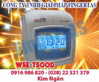 Thiết bị chấm công thẻ giấy WSE 7500A/D giá cạnh tranh