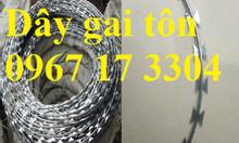 Dây thép gai hình lưỡi dao đường kính 35cm chính hiệu giá rẻ