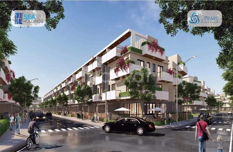 Độc quyền giỏ hàng nhà phố biệt thự ven sông thiết kế chuẩn Singapore