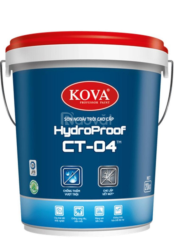 Sơn chống thấm Kova CT04 - Bảo vệ và trang trí cho ngôi nhà bạn (ảnh 1)
