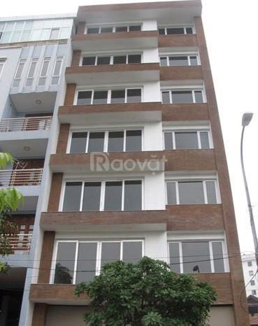 Bán nhà ngõ 27 Lạc Long Quân DT112m,7 tầng, thang máy mới, giá 10.45 t