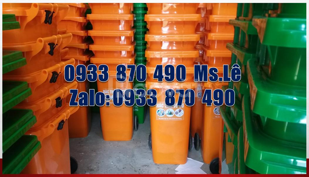 Thùng rác 120 lít mua ở đâu,thùng rác 240L giữ gìn vệ sinh môi trường