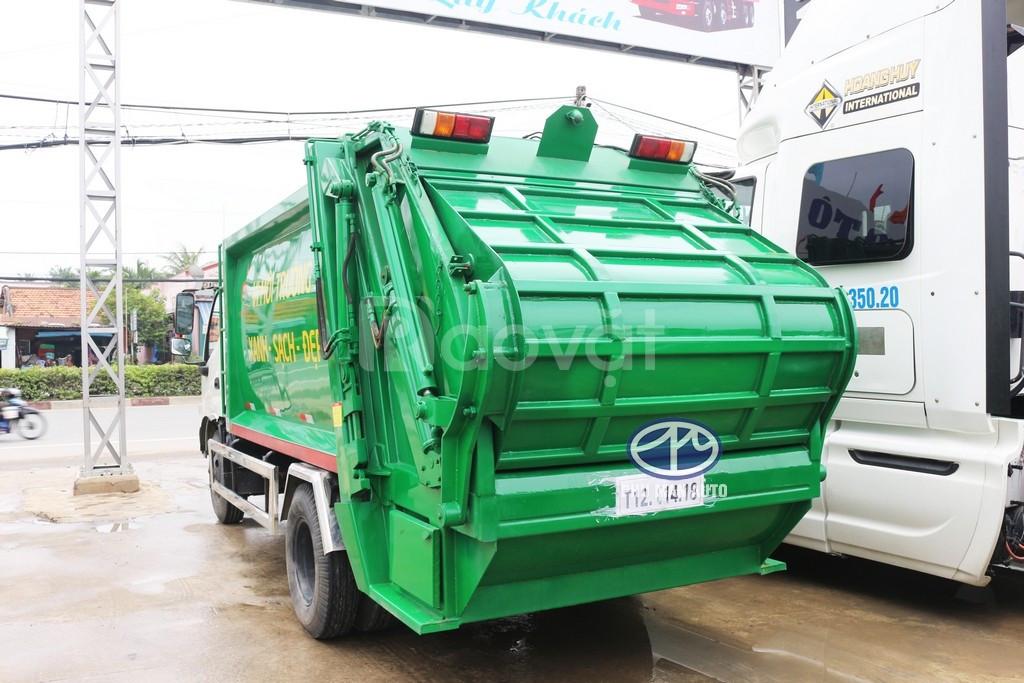 Bán xe rác Hino 6 khối giá rẻ