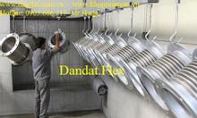 Sản xuất ống xả máy phát điện CN, Ống bô inox 304, khớp nối chống rung