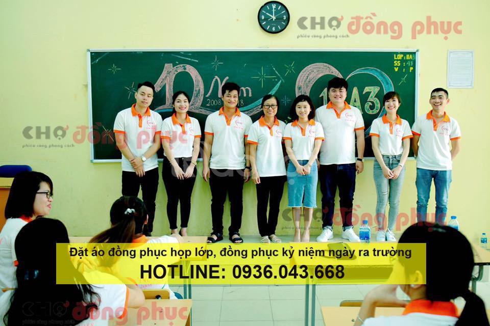 Xưởng may áo đồng phục họp lớp