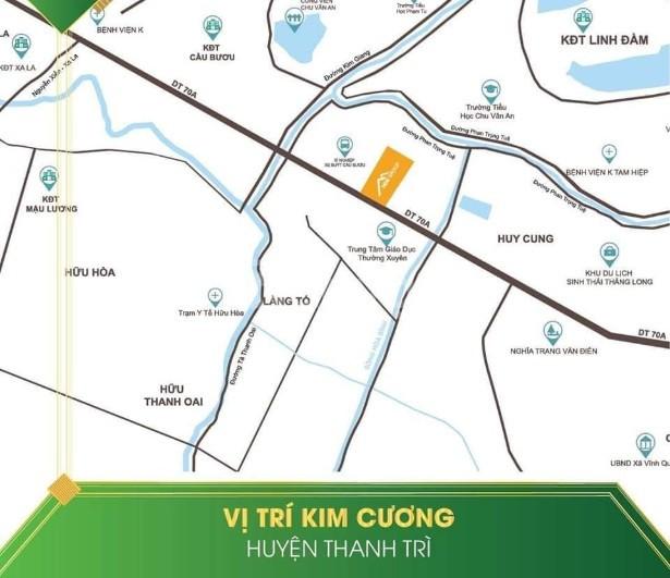 Dự án nhà liền kề Thanh Liệt Thanh Trì