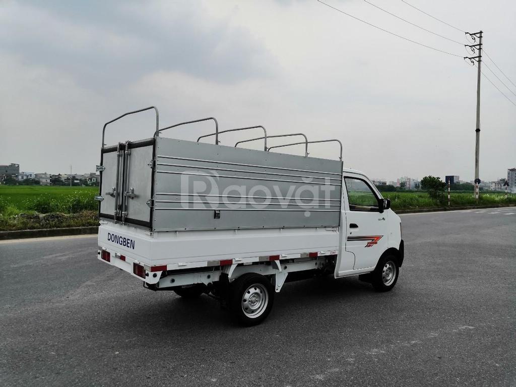 Xe tải nhẹ Dongben Mui bạt đời 219 -810kg - hỗ trợ ae vay góp tới 70 %