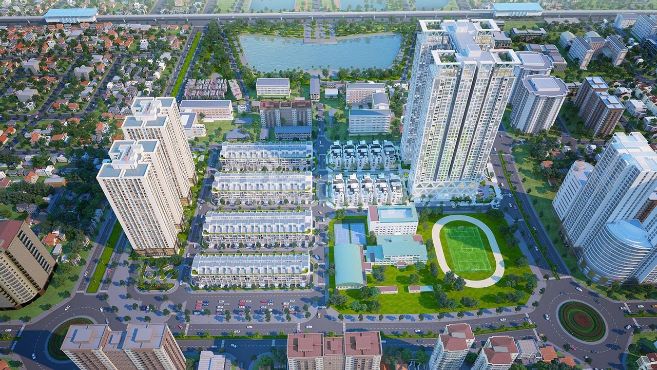Bán căn hộ chung cư 5 sao The Zei Mỹ Đình, giá 3,2 tỷ