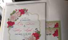 In ấn thiệp cưới đẹp năm 2019 tại Trà Vinh