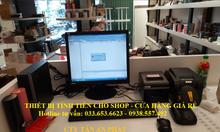 Trọn bộ máy tính tiền cho shop, cửa hàng mỹ phẩm tại TpHCM